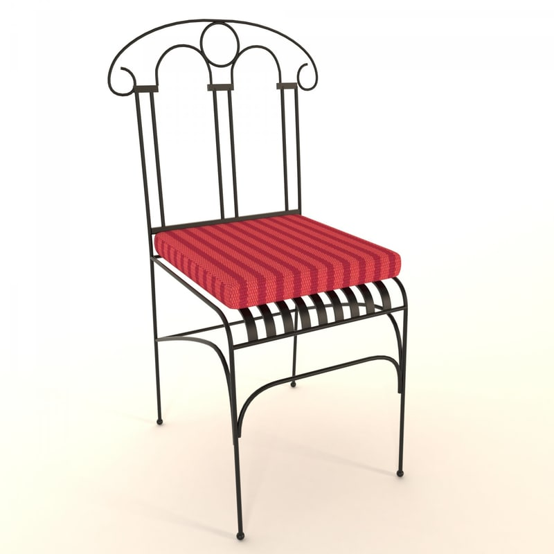 3d modern dining chair