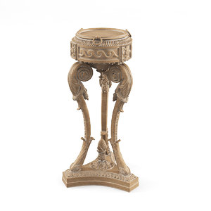 3d baroque flower stand