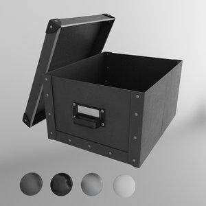 ikea fjalla storage box 3d model