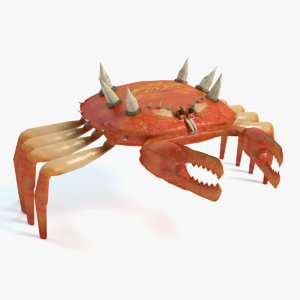 mutant crab 3d model