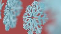 xmas snow flakes 3d max