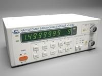 3d model cymometer