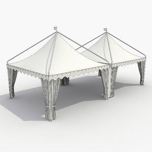 3d tent 9 model