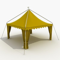 3d model tent 5
