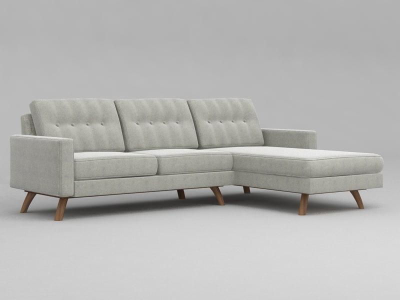 obj luna corner sofa