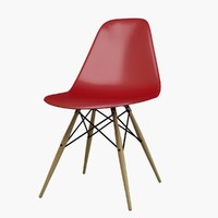 eames chair 3d max
