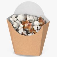 3d model popcorn 5