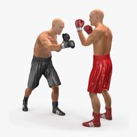 boxers box c4d