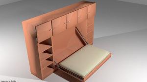 3d bed murphy