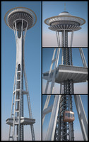 Space Needle Tower HD