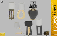 Desk Lamps Pack 1