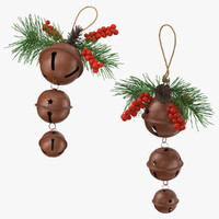 christmas bells 01 c4d
