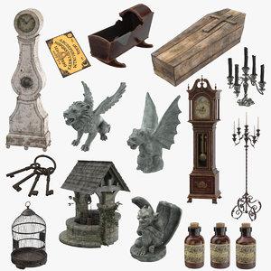 max creepy objects