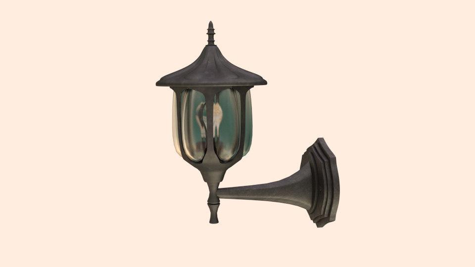 exterior lamp 3ds