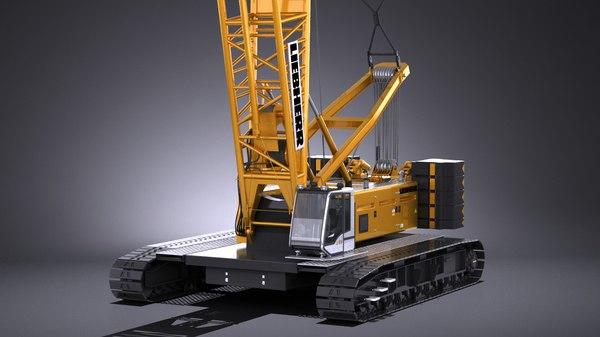 3d model of liebherr lr 1160