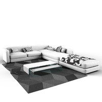 Sofa White - Complete Package