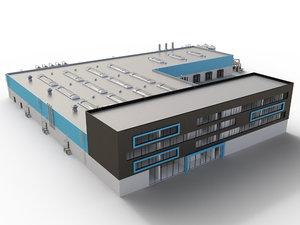 industrial 3d model
