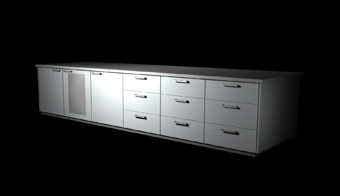 fbx storage cabinet cupboards unit
