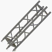 3d straight truss model