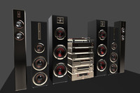 3d pack hi-fi components