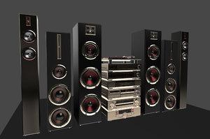 3d pack hi-fi components