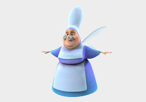 3d fairy cartoon
