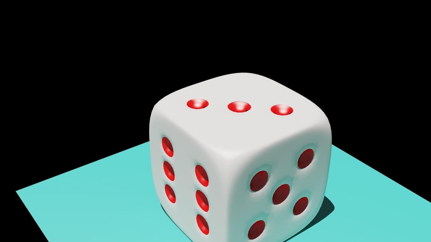 3d casino dice