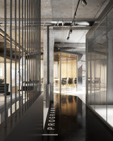 3d loft office interior