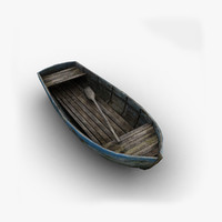Low Poly Old Boat