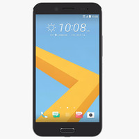 3d htc 10 evo black