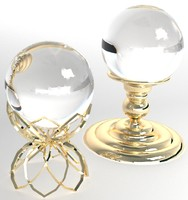 crystal ball 3d model