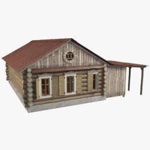 cottage windows 3d 3ds