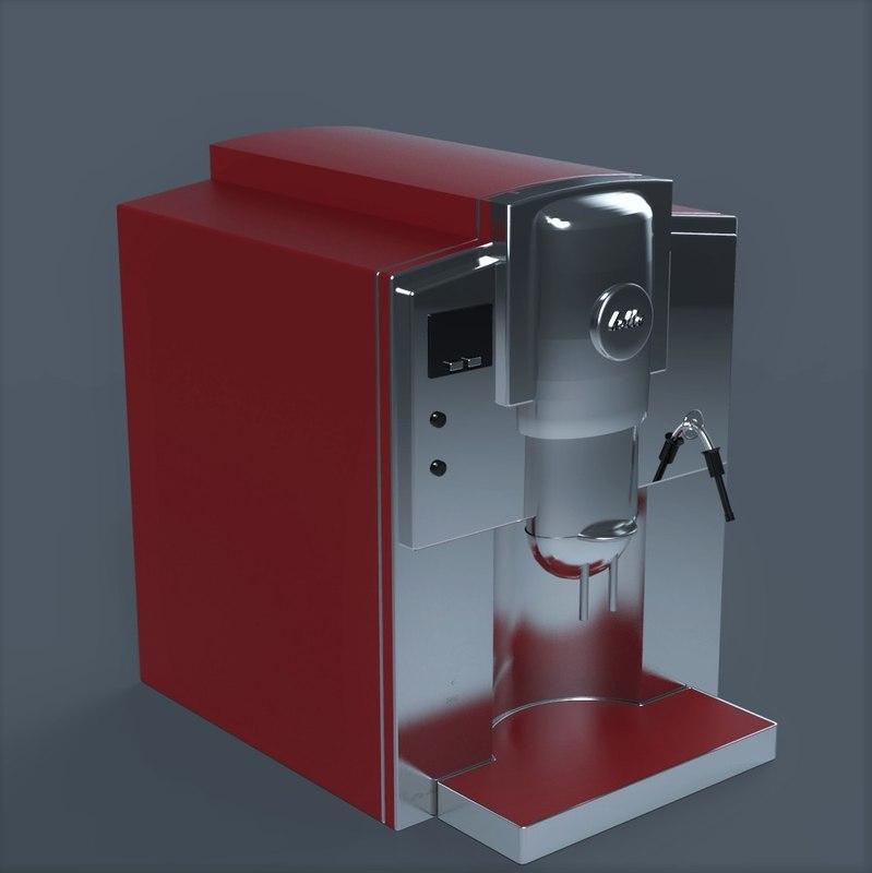 coffee machine 3d model