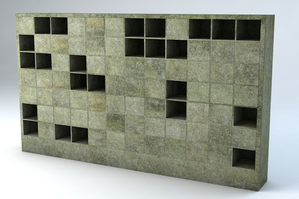 columbarium r p 3d 3ds