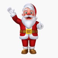 Santa Claus Rigged(CATRIG)