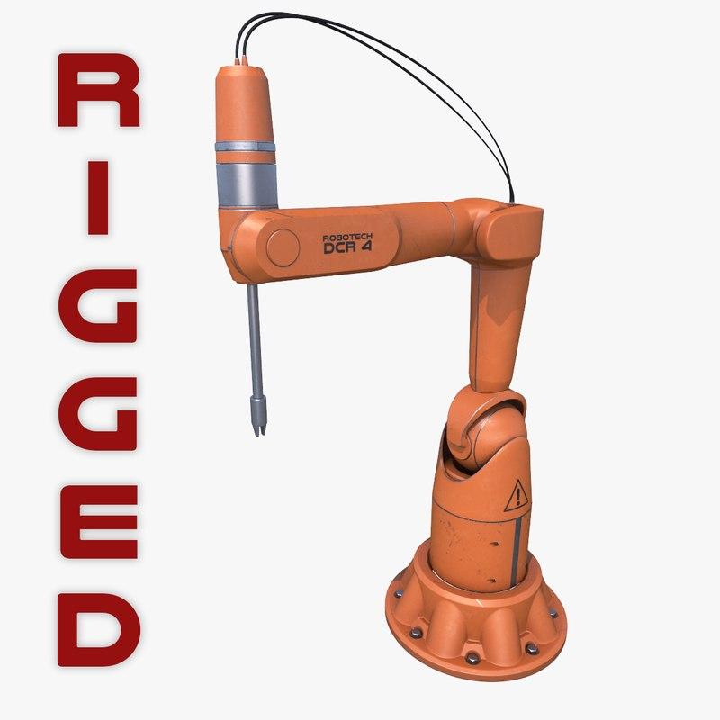 3d model generic robotic arm