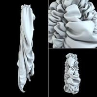 3d model organic cloth