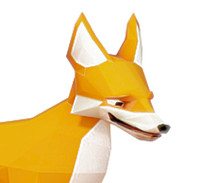 3d fox animations biped
