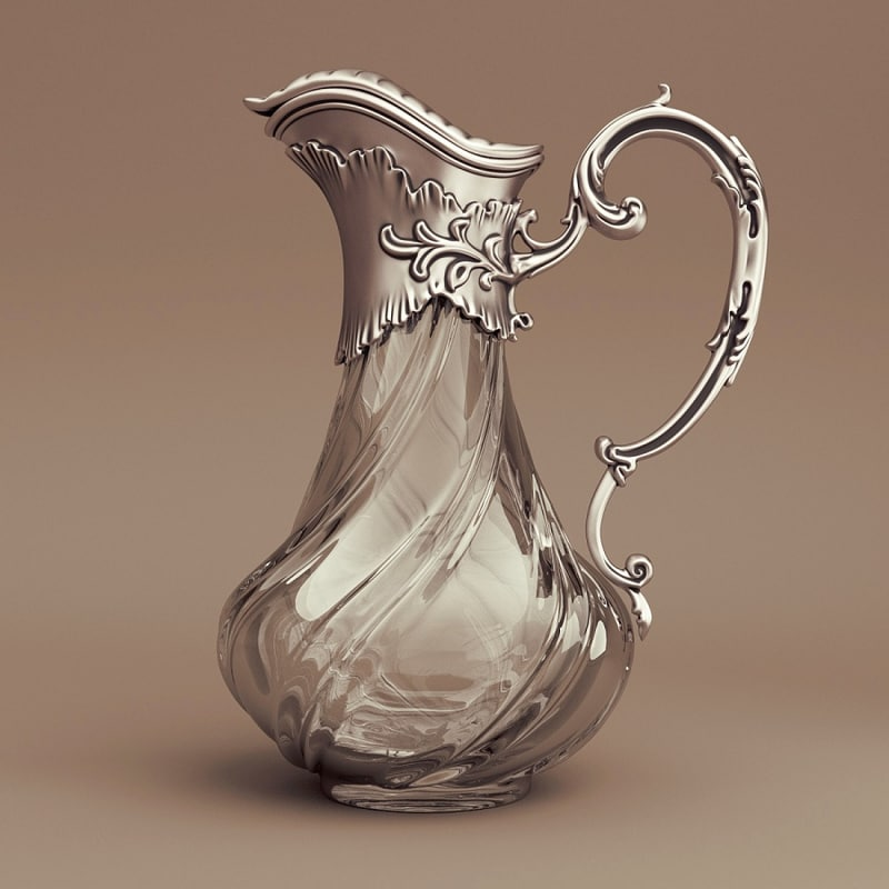 pitcher cycles 3d model