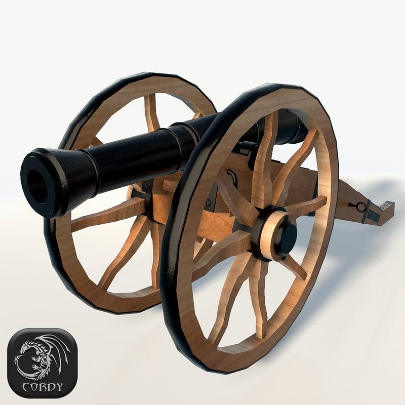 field cannon max