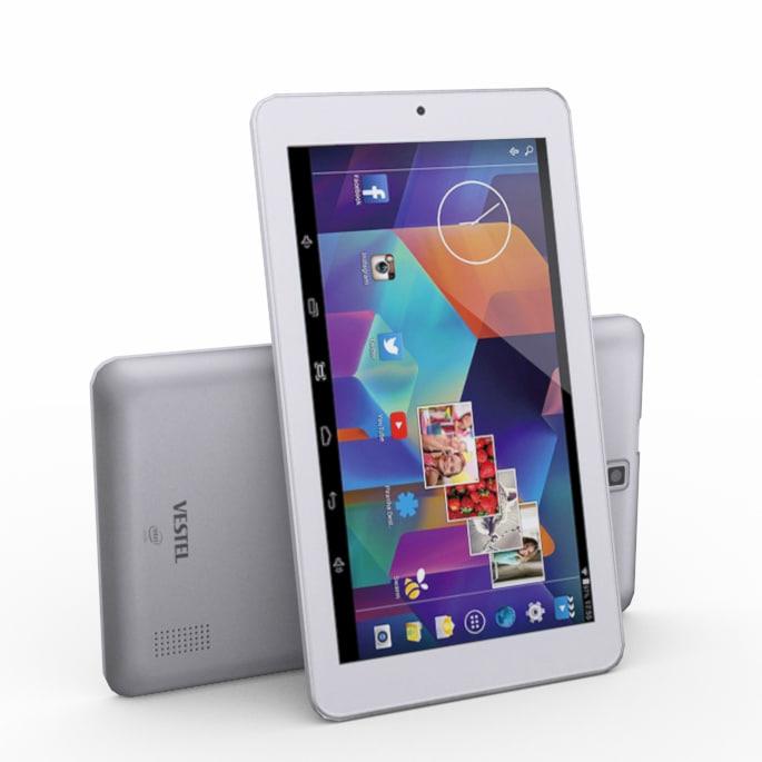 3d model of vestel v tab tablet