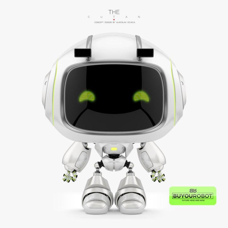3d model cute cutan