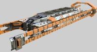 Sci-Fi Cargo Train (textured)