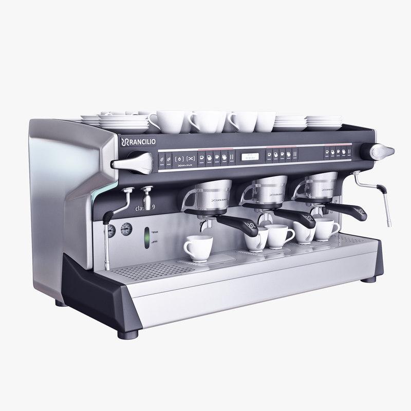 3d espresso machine