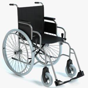 wheel chair wheelchair 3d model