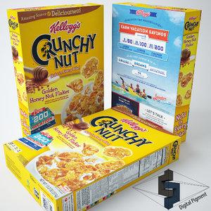 crunchy nut 3d model