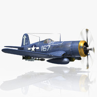 American Fighter Aircraft F4U Corsair