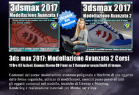 3ds max 2017 Modellazione Avanzata vol 23 e 24 Italiano cd front
