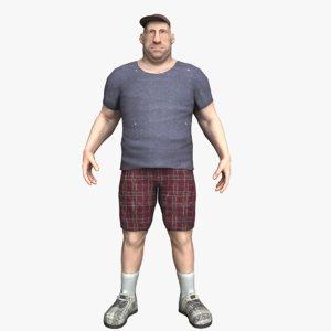 cartoon fatman 3ds
