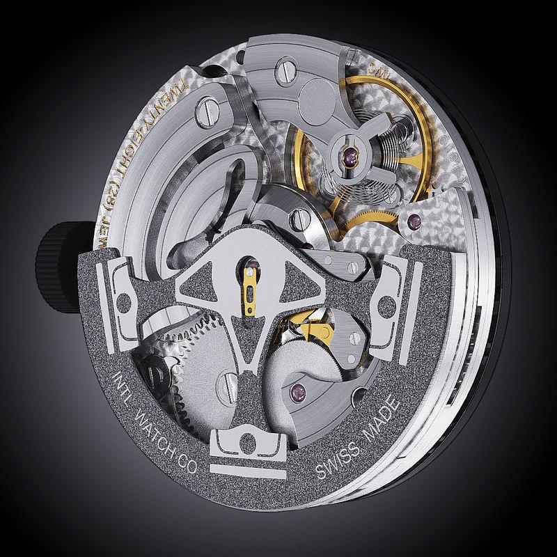 3d model iwc calibre 80021